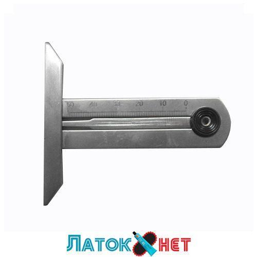 Вимірювач глибини протектора, метал прозорий чохол 31497