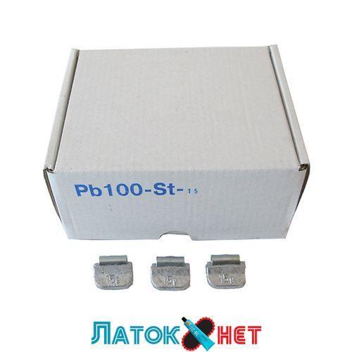 Грузик для стандартних дисків Полтава 15 гр 100 шт/уп