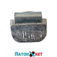 Грузик для стандартних дисків Полтава 15 гр 100 шт/уп, фото 2