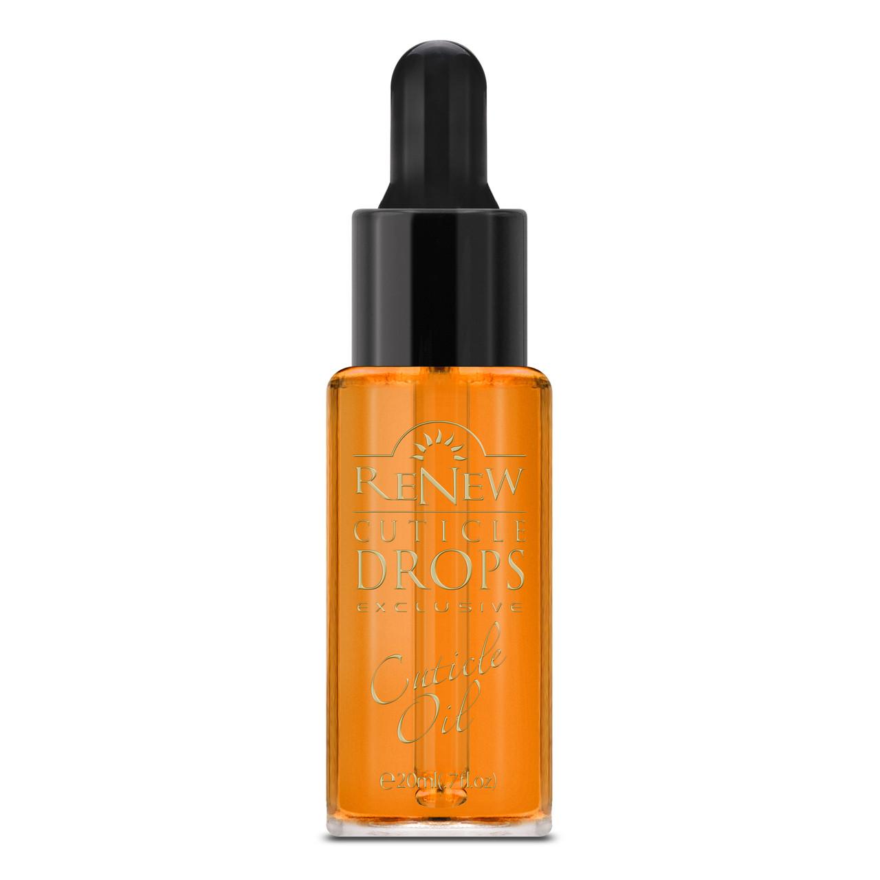 Масло для кутикули Апельсин поживне VOG США 20мл з піпеткою