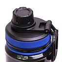 Спортивна пляшка для води Kamille 750мл з пластику KM-2302, фото 6