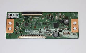 Плата T-CON для телевізора LG 6870C-0442B б.у.