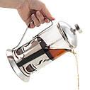 Заварник френч-прес з ложкою Ofenbach 350мл для чаю та кави KM-100604, фото 6