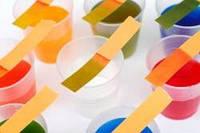 Индикаторные полоски для определения соды и аммиака в молоке