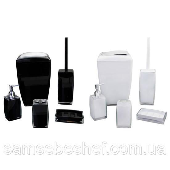 Набор акриловых аксессуаров для ванной Besser 5 предметов KM-8009