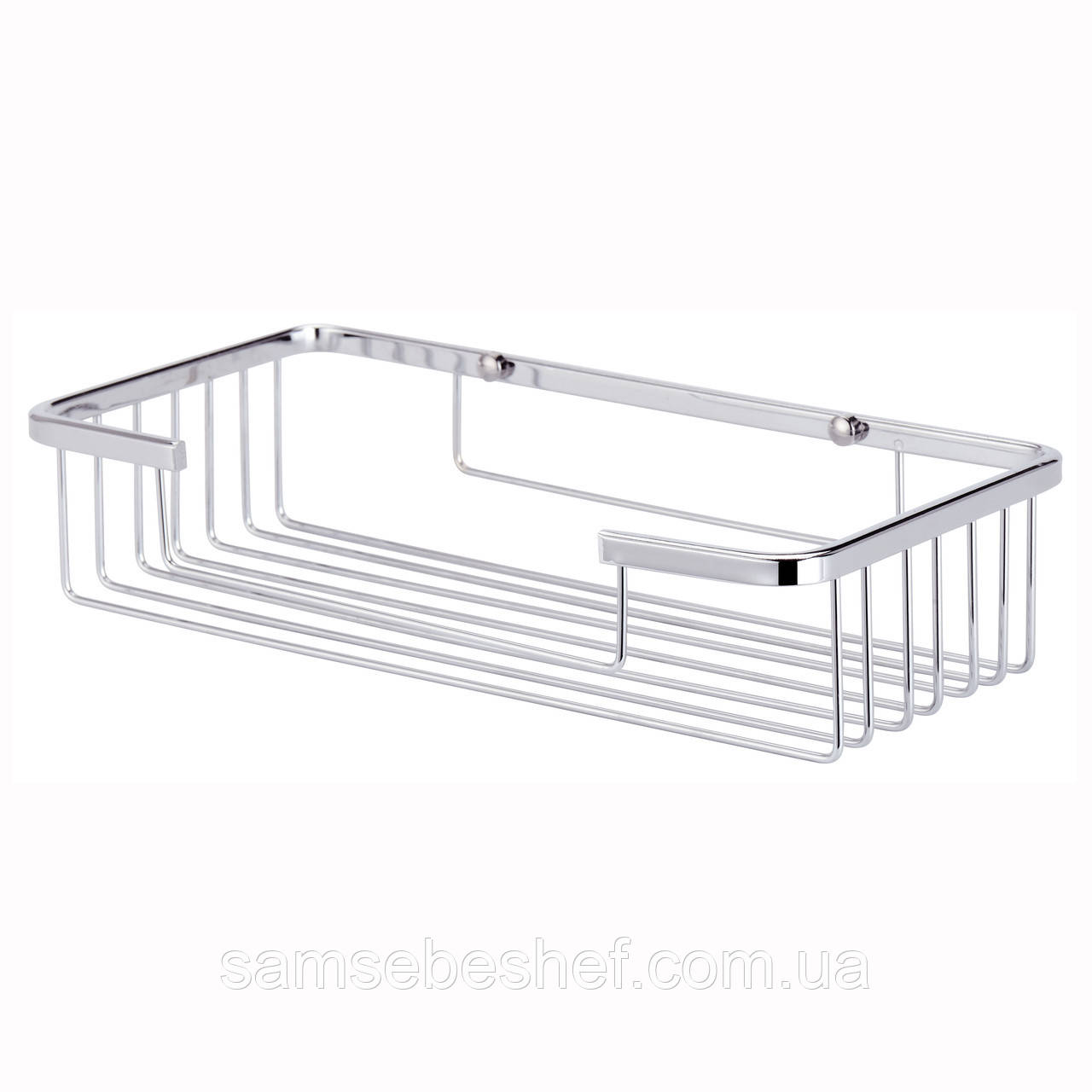 Корзинка для ванной Besser прямоугольная 25х12.5х5.5см KM-8504