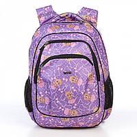 Детский школьный рюкзак с ортопедической спинкой и принтом куклы Dolly 541 30*39*21 см, фото 1