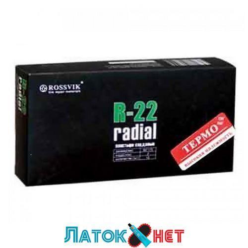 Радиальный пластырь R 22 термо 80 х 175 мм 2 слоя корда Россвик Rossvik