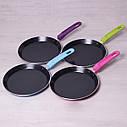 Сковорода млинна Kamille 22см з керамічним покриттям, фото 2