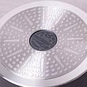 """Каструля Kamille 4л з литого алюмінію з кришкою і антипригарним покриттям """"мармур"""" для індукції, фото 8"""