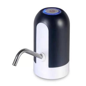 Электрическая помпа-дозатор для бутилированной воды, насос для бутыля W1 черная