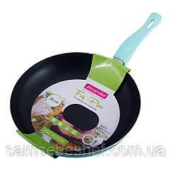 Сковорода Kamille 28см з антипригарним покриттям без кришки для індукції