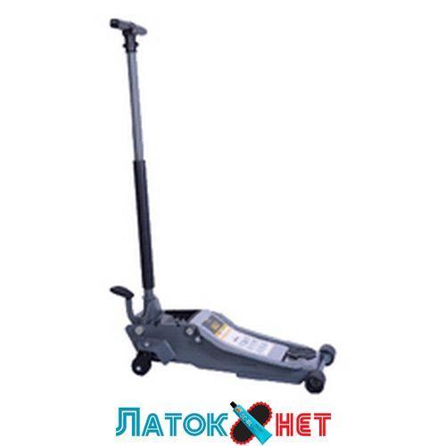 Домкрат гідравлічний підкатний 2т 75-500 мм з педаллю S-2TK Snit
