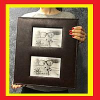 Фотоальбом кожзам, Альбом для фотографий, Большой фотоальбом, Альбом для фотографий 10 на 15. Альбом на 400 ф.