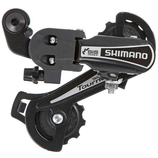 Переключатель задний для велосипеда RD-TY21-В GS 6 скоростей под крюк Tourney