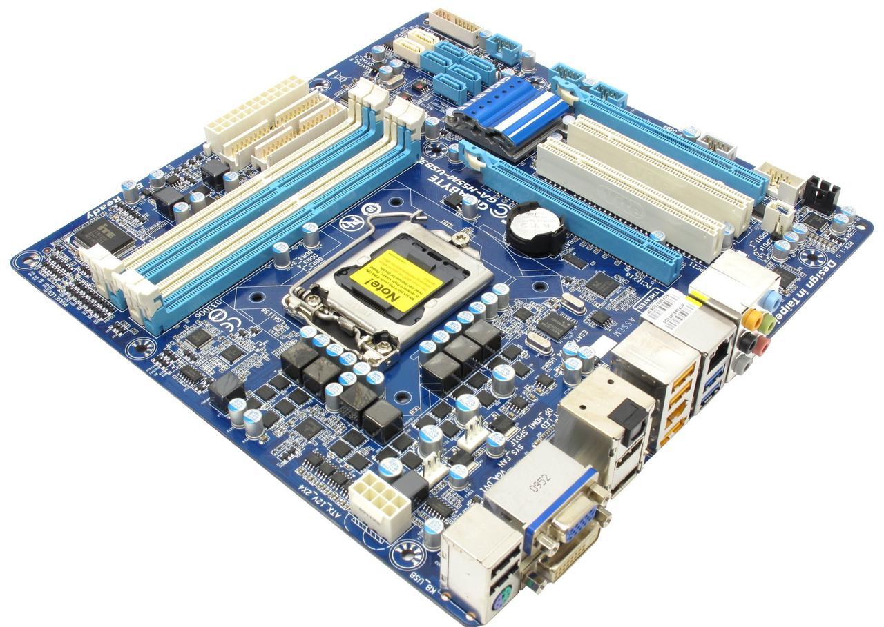 Материнська плата GIGABYTE GA-H55M-USB3 (s1156, H55, PCI-Ex16)
