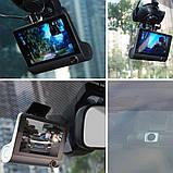 Видеорегистратор автомобильный на 3 камеры + Видео парковка регистратор с 4-дюймoвым экраном и съемкой салона, фото 4