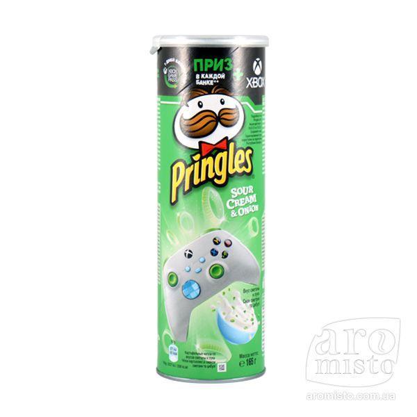 "Чіпси ""Pringles"" Sour Cream and Onion 165g"