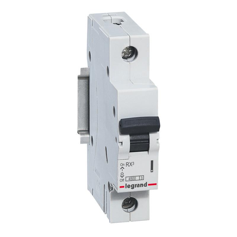 Автоматичний вимикач Legrand RX3 1п 40А С, 4,5 кА