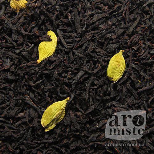 Чорний ароматизований чай Кардамон (Цейлон) 50g