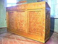 Храмовая мебель, престолы, жертвенники