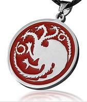 Медальйон Game of Thrones Targaryen Dragon