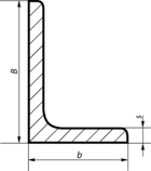 Кутник сталевий 140х140х9, марка сталі Ст. 3СП/ПС, ГОСТ 8509 , фото 5