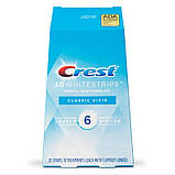 Отбеливающие полоски для зубов Crest 3D Whitestrips Classic vivid Whitening Kit 10 пар (3 тона), фото 2