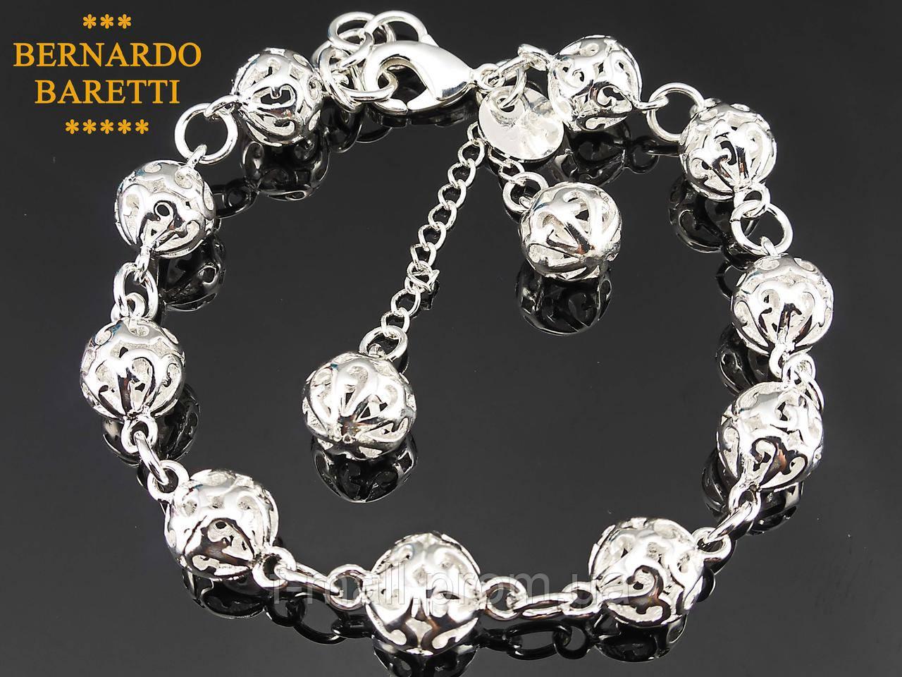 Жіночий браслет сплав з сріблом.Родированное покриття.