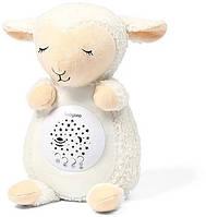 Нічник іграшка з проектором музичний дитячий Овечка Скарлет 60 мелодій BabyOno, фото 1