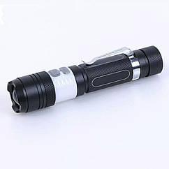 Діодний ліхтар XML T6 (вбудована зарядка, режим світильника / нічника)