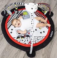 Розвиваючий музичний килимок дитячий з музичною скринькою з проектором C-MORE 100х100см BabyOno