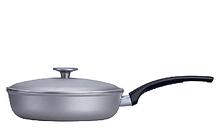 Сковорода алюминиевая с крышкой Талко 22 см D 50221