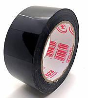 Пакувальний Скотч кольоровий чорний - 40 мікрон × 500 м