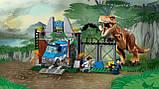 Конструктор Bela 10920 Побег Ти-Рекса Dinosaur World 168 дет, фото 4
