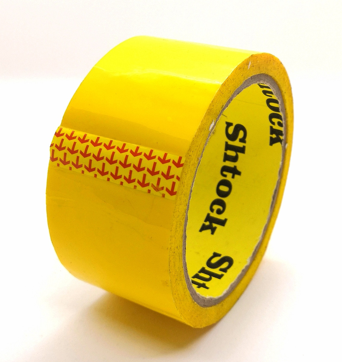 Пакувальний Скотч кольоровий жовтий - 40 мікрон × 100 м