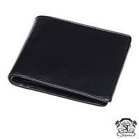 Портмоне бумажник мужской кожаный в подарочной упаковке Stefania чёрный