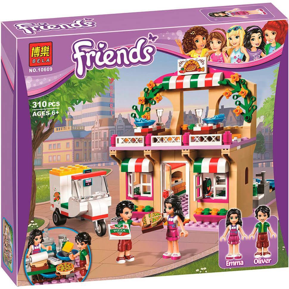 Конструктор Bela Friends 10609 Піцерія, 310 деталей