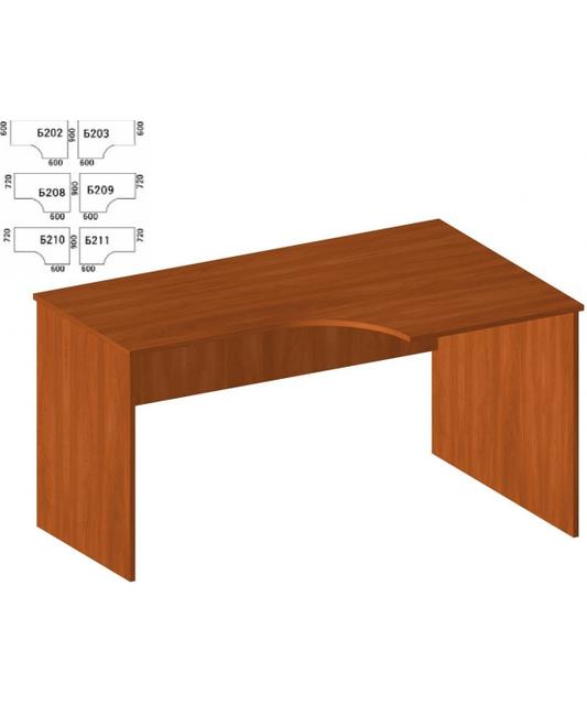 Угловой письменный стол Б-202 (1400 х 900)