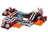 Конструктор майнкрафт Bela 10620 Підземна залізниця 399 дет, фото 2