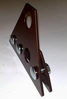 Кронштейн снегозадержателя стальной окрашенный по RAL