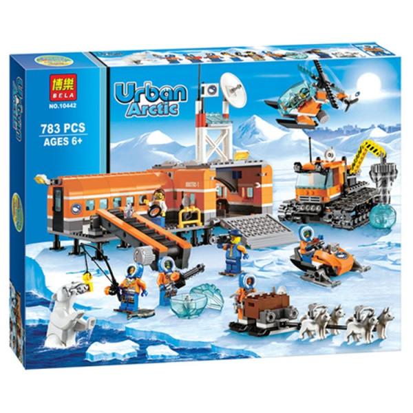 Конструктор Bela 10442 Urban Artic Арктичний табір 783 деталі