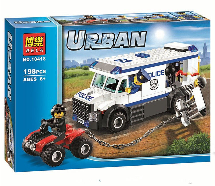 Конструктор Bela 10418 Urban Автомобіль для перевезення ув'язнених