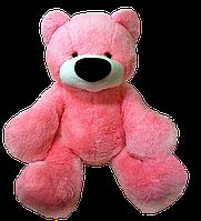 Мягкая игрушка -Медведь сидячий Бублик розовый