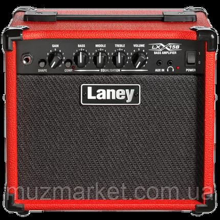 Комбопідсилювач Laney LX15B-RED, фото 2