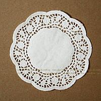 Салфетка бумажная ажурная 20 см. (100 штук)