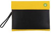 Клатч для планшета Upixel Желто-черный
