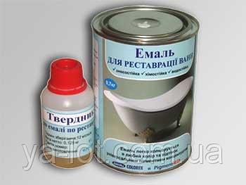 Реставрационные покрытия - Эмаль эпоксидная для реставрации ванн. - Ya-Lot в Киеве