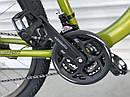 """Спортивный детский велосипед хаки ТopRider 26"""" рама 15 крылья детям от 10 лет, рост от 140 см, фото 2"""