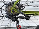 """Спортивний дитячий велосипед червоний ТopRider 26"""" рама 15 крила дітям від 10 років, зріст від 140 см, фото 4"""